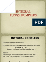 Slide Integral Fungsi Kompleks