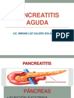 Pancreatitis Aguda 2013