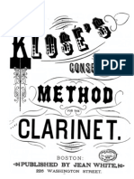 Klose - Clarinet Method