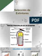 Selección Extintores