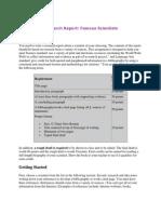 research report- scientist