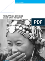 01. Asegurar los Derechos de los Niños Indígenas UNICEF - JPR504