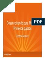 Ricardo Martins Desenvolvendo Para Magento Primeiros Passos