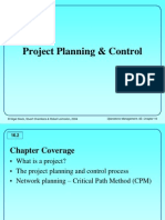 5 Project Planning and Control