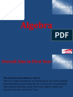 Show 3 Introduction to Algebra