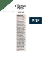Oakland Press_6.6.13_Art Garden Copy