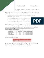 MSF 503 F12 Problem Set 3