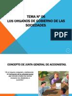 TEMA Nº 06. LOS ORGANOS DE GOBIERNO DE LAS SOCIEDADES (1)