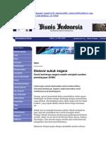 Distorsi Sukuk Negara (Bisnis Indonesia, 12 Juni 2010, Hlm. 2)