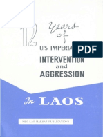 12 Years of US Imperialist Intervention and Aggression in Laos
