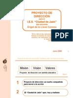 proyecto de direccion de Angel de la Llave (presentación)