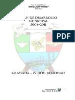 Plan de Desarrollo Municipal Granada, Meta, Colombia