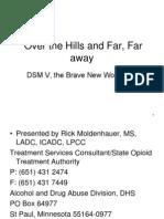 Changes in DSM V