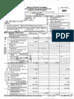 Bilderberg 2007 Tax Returns
