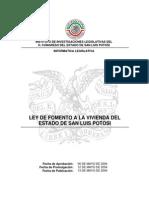 Ley de Fomento a La Vivienda Del Estado de San Luis Potosi