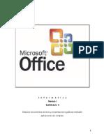 Manual de Word, Excel y PowerPoint