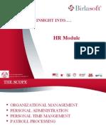 SAP HR Presentation