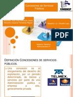 Contrato Concesion de Servicios Publicos