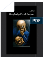 Grey Lodge Occult Review Vol I Issue X