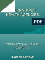 International Health Agencies