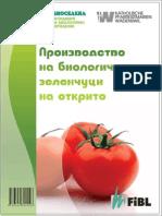 Organic Vegetables Outdoors in bulgarian language