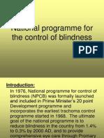Blindness Program