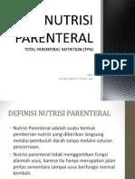Nutrisi Parenteral