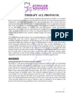 ACL Protocol Fowler Kennedy r Mar 2009
