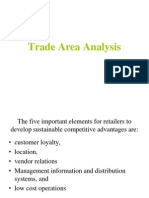 Trade Area Analysis Retail context