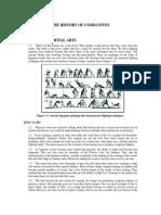 The History Modern Army Combatives Program