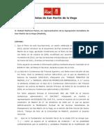 Alegaciones al Plan General de Ordenación Urbana de San Martín de la Vega