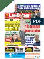 LE BUTEUR PDF du 25/06/2009