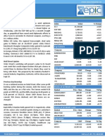 Special Report 12 -Sep-2013 by Epic Research