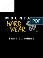 Mountain Hardwear Inc - Brand Guidelines