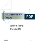 Funcion Variable Compleja