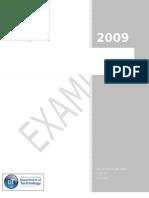 PPM Alternatives EXAMPLE Report 062409