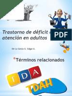 Trastorno de déficit de atención en adultos