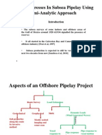 Dynamic Stresses in Subsea Pipelay Using Semi-Analytic Approach