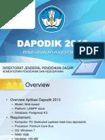 dapodik-2013-Aplikasi Pendataan.ppt