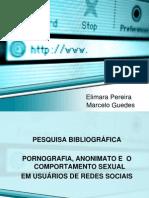 Pesquisa bibliográfica - PORNOGRAFIA, ANONIMATO E  O COMPORTAMENTO SEXUAL.pptx