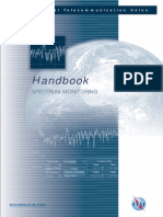 Handbook of Spectrum Monitoring 2011