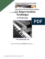 Improvisation Jazz Music Theory Harmony Piano Techniques Chords Scales(2)