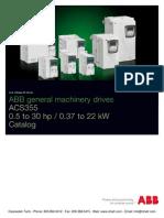 Abb Acs355 Technical Cataloge