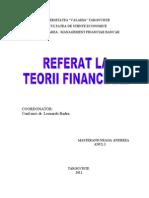 Referat Teorii Financiare-neaga Andreea.1