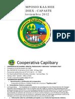 07 Alianzas Productivas Inclusivas El Cultivo de Kaa Hee Con Alto Impacto Social en Cuencas de Cultivos