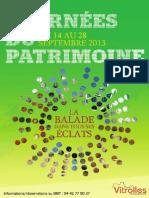 Les Journees Patrimoine 2013 Vitrolles
