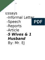 PMR - Essays