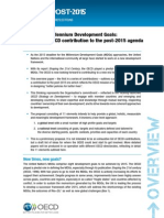 Beyond the Millennium Development Goals -Towards an OECD contribution to the post-2015 agenda