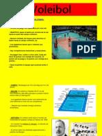 Presentación del trabajo de voleibol