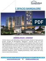 Unishire Spacio Bangalore - Unishire Spacio Bannerghatta Road, Bangalore - Download Brochure, Price List, Location